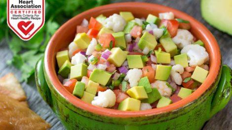 vegan avocado ceviche