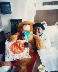 """Erika Priceless Photo 240x300 - """"WE CARE CHEMO KITS"""" is making a big difference in a big city like Miami and  they welcome your help"""