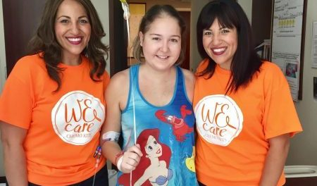 """Lisa Stem Cell 450x264 - """"WE CARE CHEMO KITS"""" is making a big difference"""
