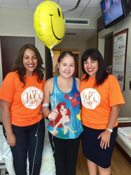 """Lisa Stem Cell - """"WE CARE CHEMO KITS"""" is making a big difference"""