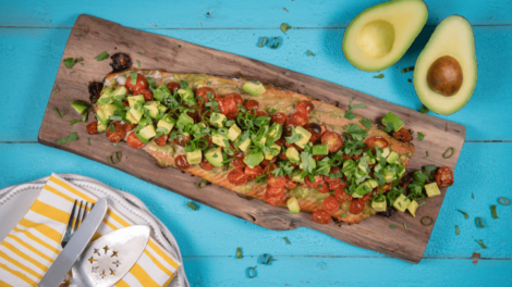 Grilled Salmon 470x264 - The role of avocados in maternal diets