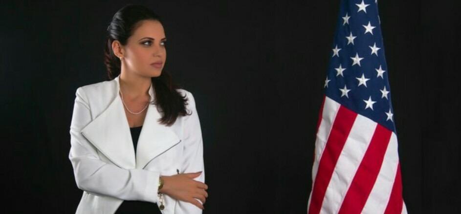 LA CANDIDATA - La candidata al Congreso de Florida, Souraya Faas, es una promesa que podría ser realidad