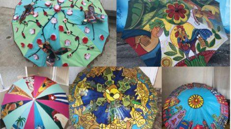umbrellas 470x264 - Come out for the 6th Annual Umbrellas of Little Havana Art Festival
