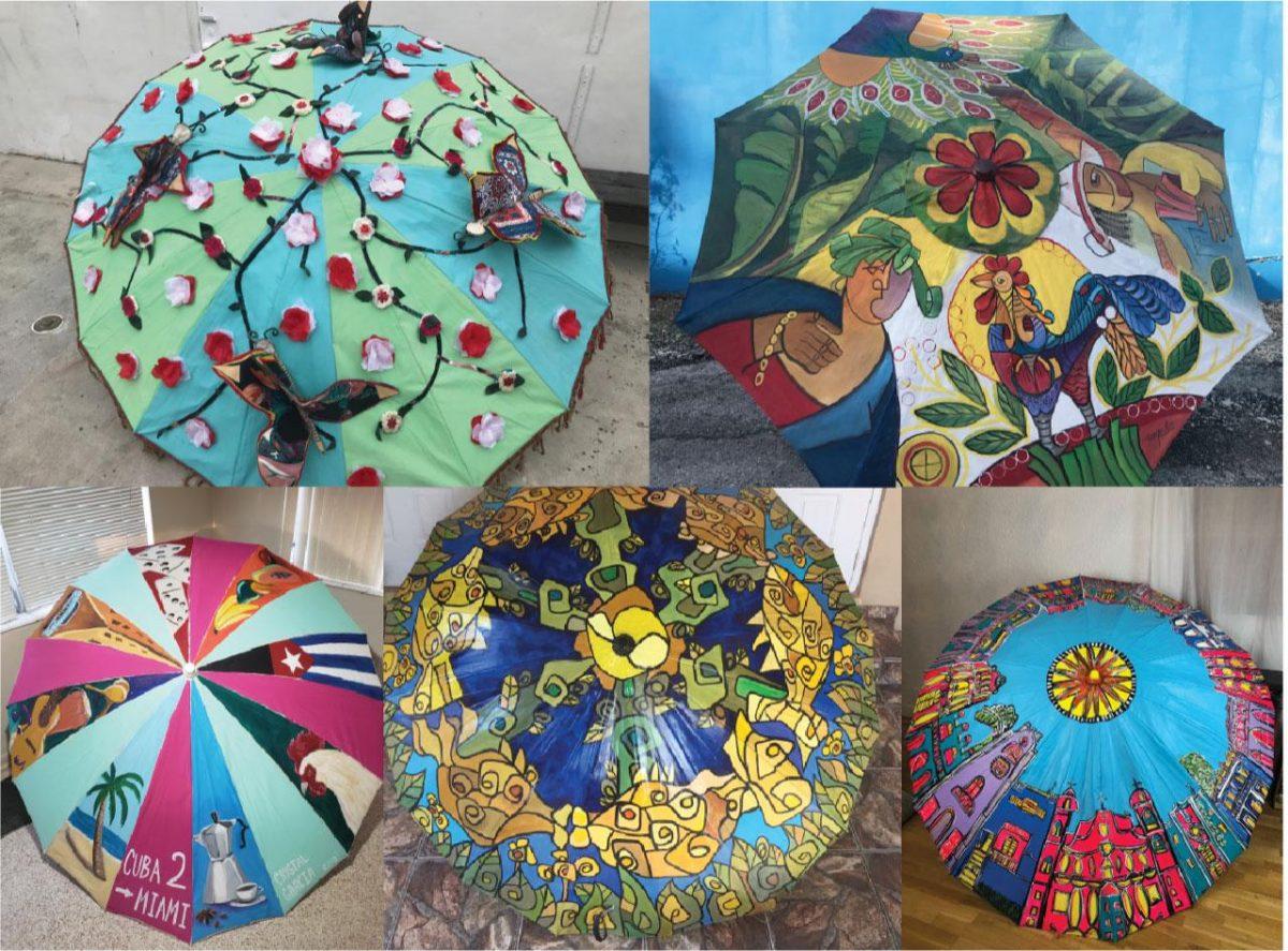 umbrellas - Sexta edición del Festival Anual de Arte Las Sombrillas de La Pequeña Habana