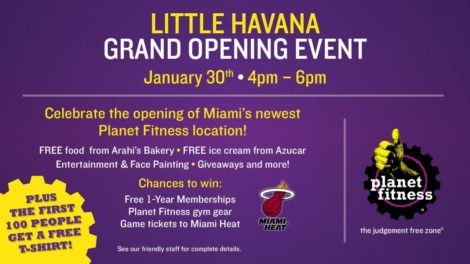 Pg 7 ENG FLMiamLH 1920x1080DigSign 0119 470x264 - PLANET FITNESS ANNOUNCES GRAND OPENING OF GYM IN LITTLE HAVANA
