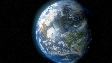 Space view of the Earth