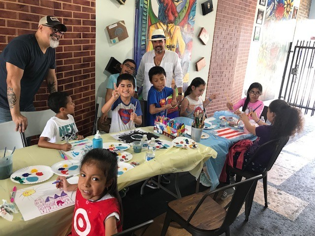 RAINBOW FIDEL - Rainbow Art Class, transforming the lives of children