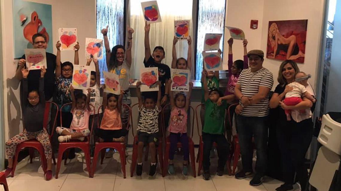 Rainbow Art Class May 2019 - Rainbow Art Class transforma la vida de los niños en La Pequeña Habana