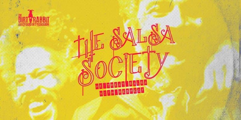 The Salsa Society promotional flyer