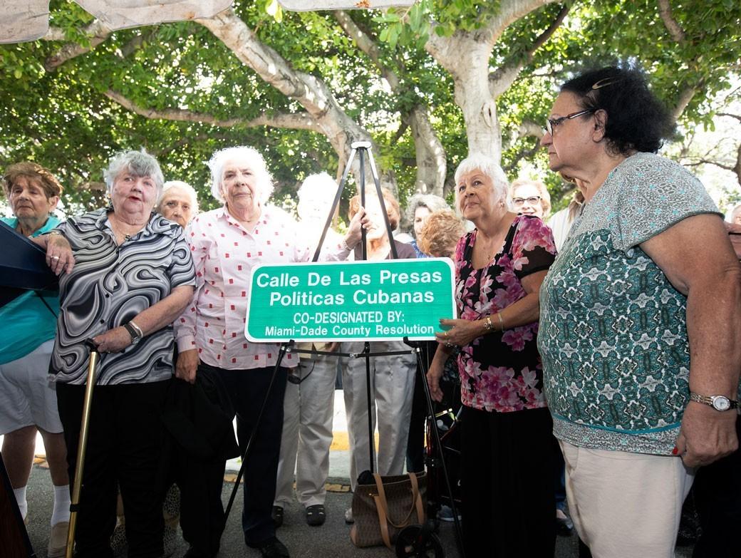 Presas Politicas 2 - Casa del Preso cumple 40 años y honra a las presas políticas cubanas
