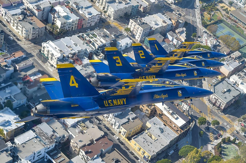 173 - @USNavyBlueAngels para volar sobre Miami