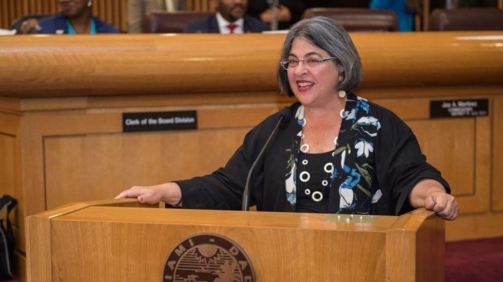 Commissioner Cava Levine