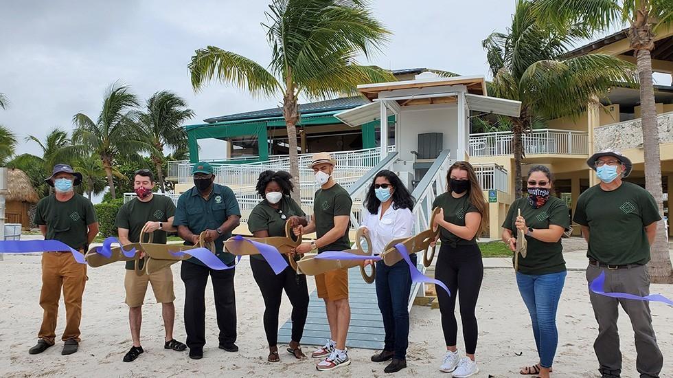 lifeguard miami ribbon cutting - Nueva Caseta de Salvavidas en Homestead Bayfront