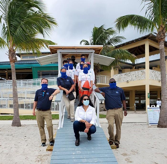 lifeguard miami ribbon cutting3 - Nueva Caseta de Salvavidas en Homestead Bayfront