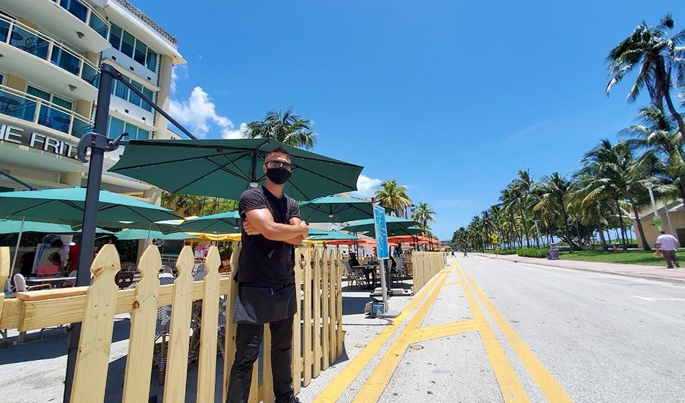 miami beach businesses closed - La Calle Ocho necesita asientos al aire libre