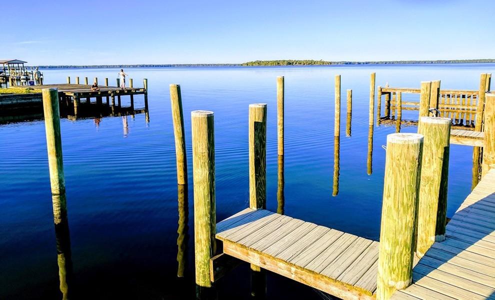 blue lake - El departamento de parque considera un plan de recreación costera
