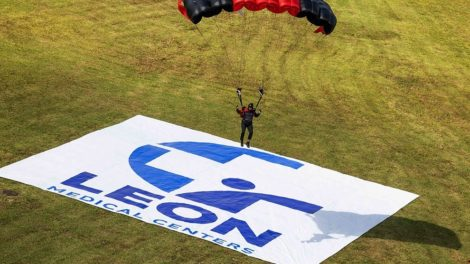 Leon Medical Centers Parachute Demonstration