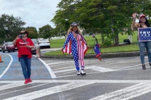 Partidarios de Trump en Miami