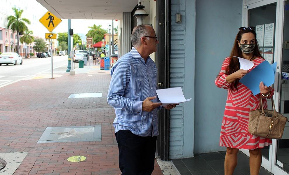 Estaban Bovo - El comisionado Bovo a la vanguardia del plan de tránsito rápido en áreas estratégicas de Miami