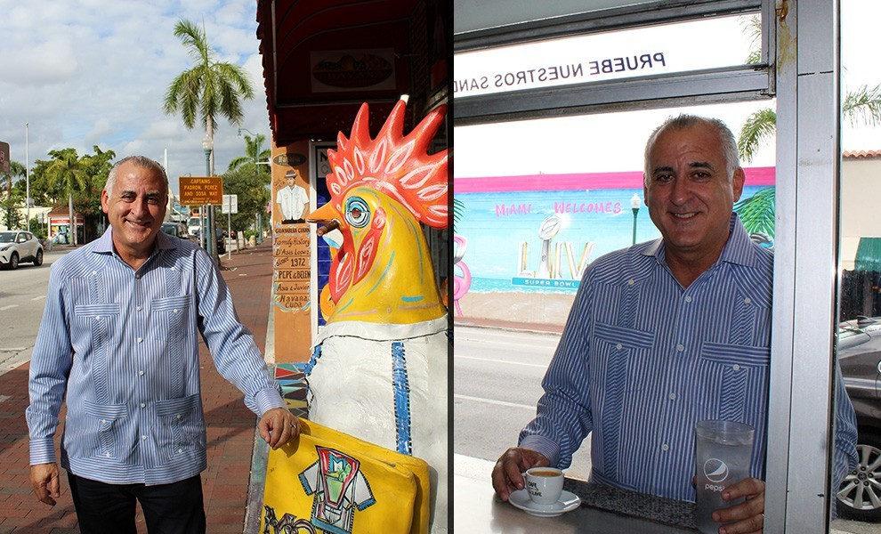 bovo exquisito inside rooster - Commissioner Esteban Bovo stands for the community's interests