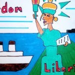 Freedom Libertad drawing
