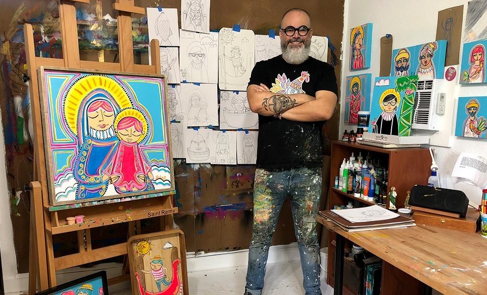 julio roberto miami - Artista local Julio Roberto y su relación con la cultura cubana