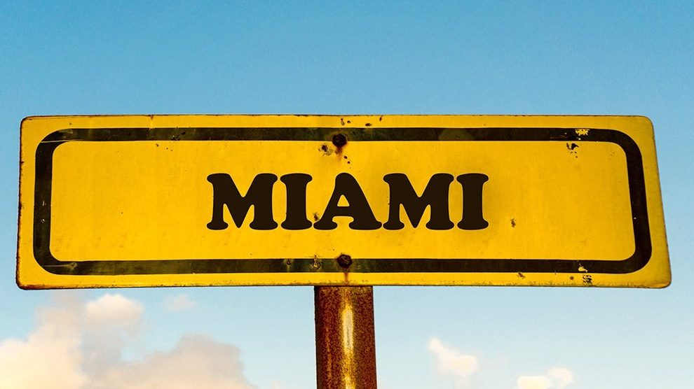 Miami old sign