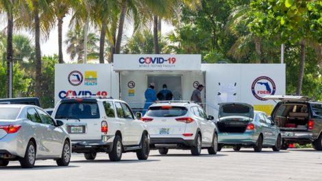 Covid-19 mobile testing unit