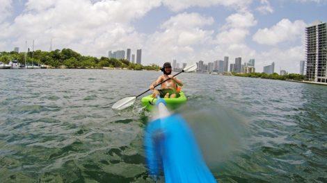 Kayak en Miami
