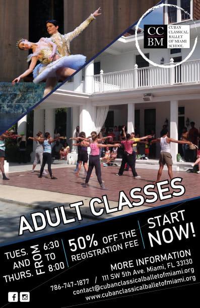 Cuban Classical Ballet Adult Ballet Classes - Cuban Classical Ballet offers adult ballet classes