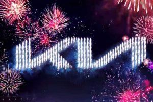 Kia fireworks