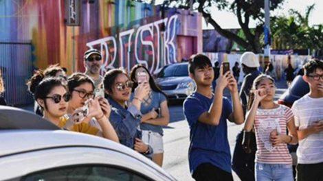 Miami tourists shows