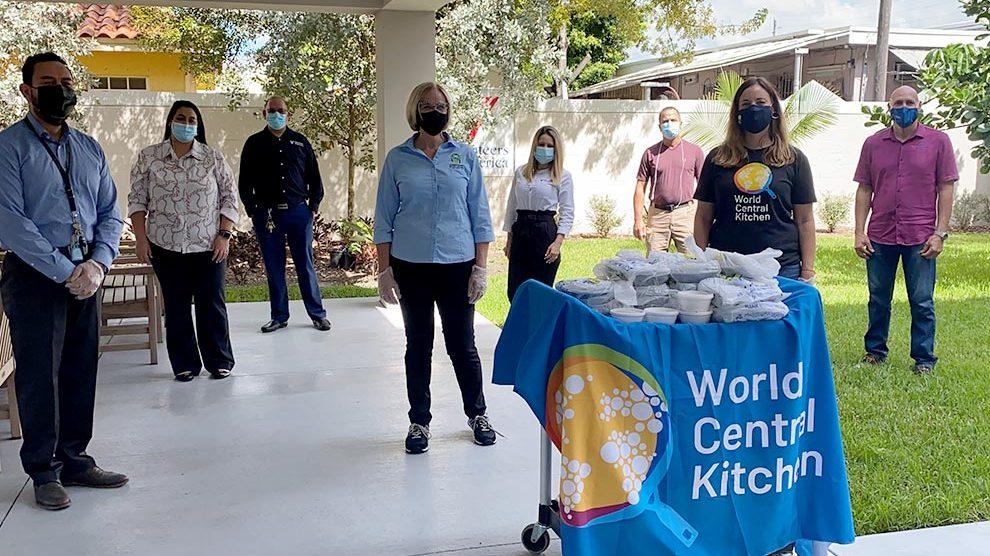 world central kitchen 990x556 - Eileen Higgins and World Central Kitchen feed the elderly
