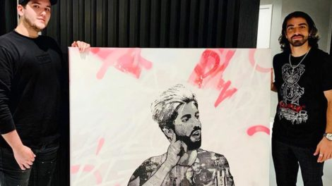Enrique Enn painting