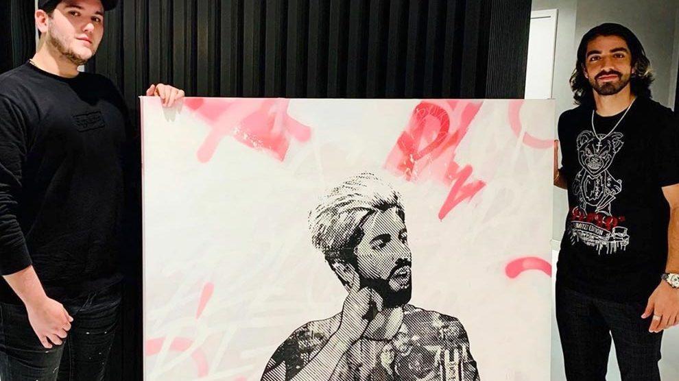Enrique Enn painting