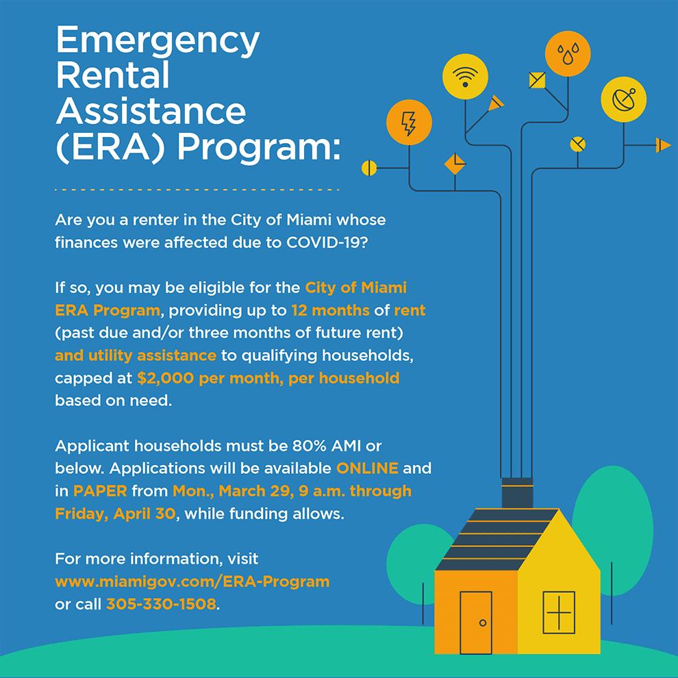 era flyer - Emergency Rental Assistance Program (ERA)