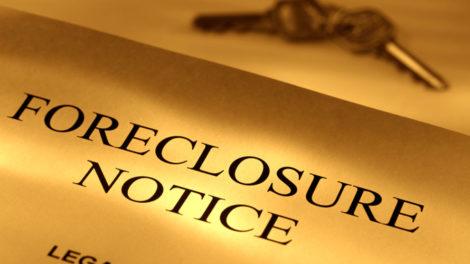 Foreclosure Notice