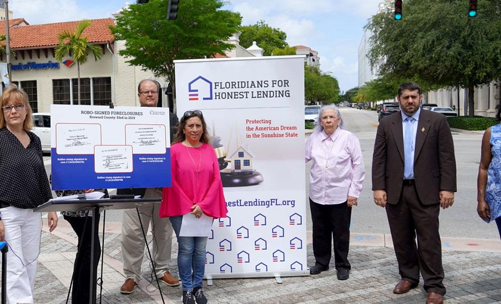 honest lending - Víctimas de hipotecas fraudulentas llaman la atención sobre la crisis de ejecuciones hipotecarias