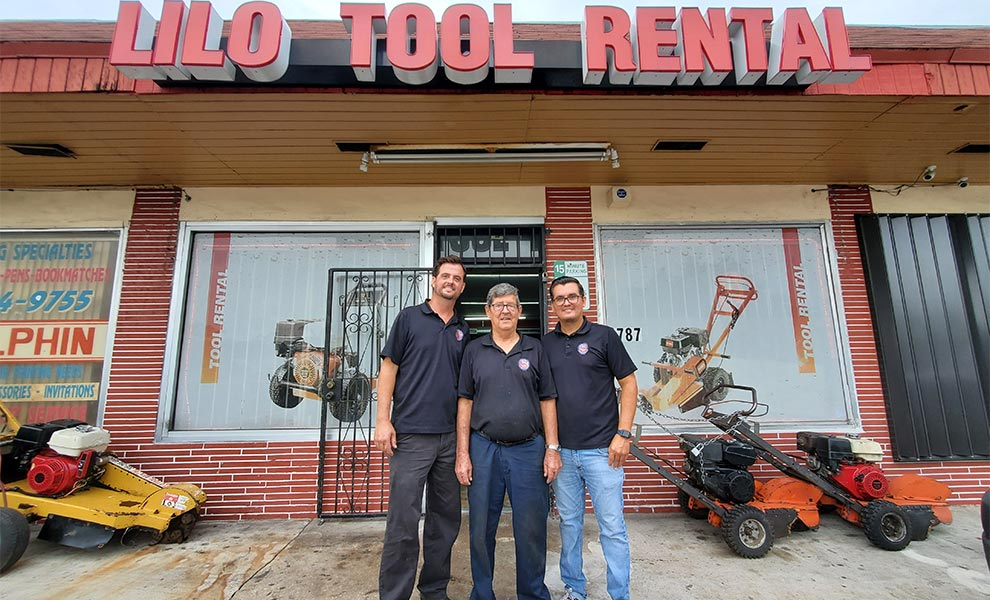 lilo tool rental - Local Father and Son shop Lilo Tool Rental makes huge strides