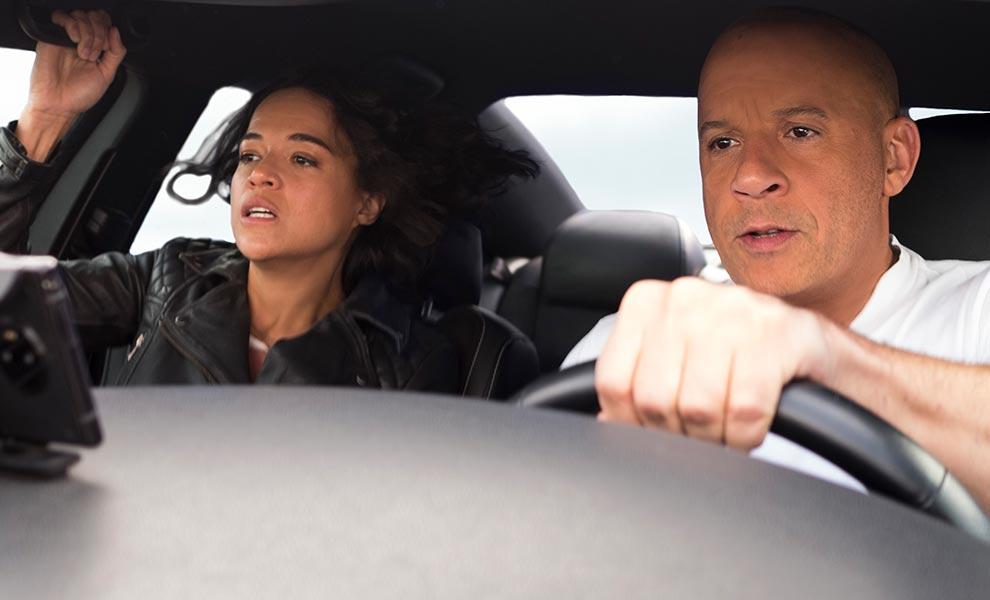 "vin diesel michelle rodriguez f9 fast saga - Cardi B debuts in ""Fast & Furious"""