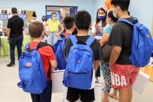 Blue Backpack Project