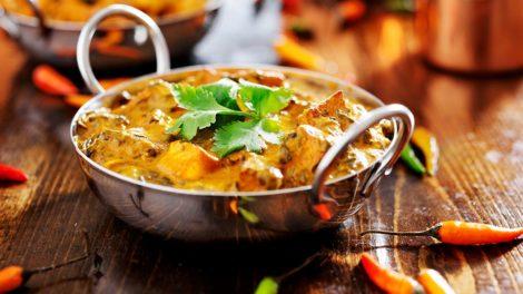 Indian Chicken Curry Balti